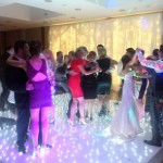 Starlight Dance floor crowd starlite dance floor hire dj skip alexander the wedding disco 3 light up disco floor