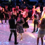Starlight Dance floor crowd starlite dance floor hire dj skip alexander the wedding disco 5 light up disco floor
