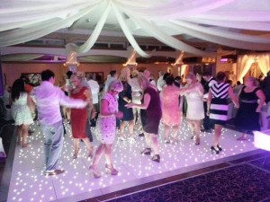 Starlight Dance floor led starlite dance floor balmoral hotel the wedding disco dj skip alexander Starlight light up disco floor
