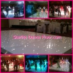 Starlight starlite dance floor hire dj skip alexander montage Floor with room decor 2